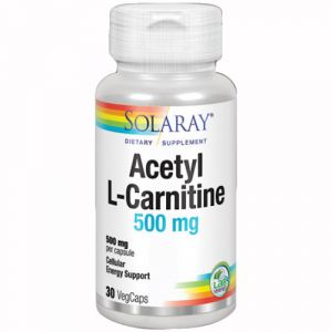 Acetil L-Carnitina 500 mg de Solaray