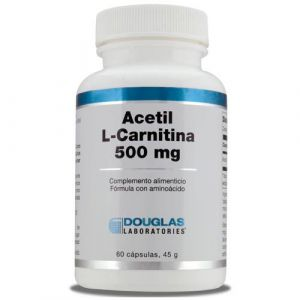 Acetil-L-Carnitina 500 mg de Douglas