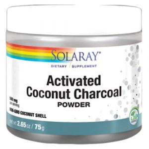 Activated Coconut Charcoal (Carbón Activo) de Solaray