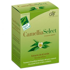 Camellia Select 60 cápsulas vegetales de 100% Natural