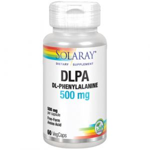 DL-Phenylalanine (DLPA) 500 mg de Solaray