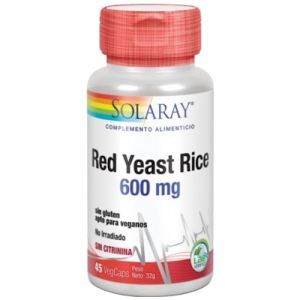 Red Yeast Rice 600 mg de Solaray
